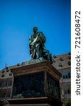 the gutenberg monument... | Shutterstock . vector #721608472