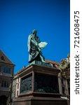 the gutenberg monument... | Shutterstock . vector #721608475