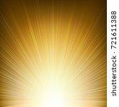 golden sunburst background... | Shutterstock .eps vector #721611388