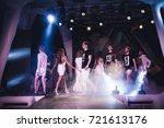 odessa  ukraine june 4  2015 ... | Shutterstock . vector #721613176