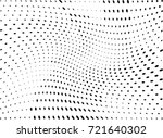 abstract halftone wave dotted... | Shutterstock .eps vector #721640302