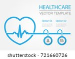 vector infographic template for ... | Shutterstock .eps vector #721660726