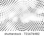 abstract halftone wave dotted... | Shutterstock .eps vector #721676482