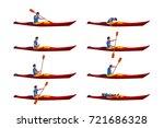 Man In Kayak Set 01