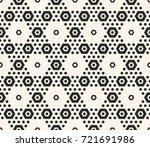 hexagons vector pattern.... | Shutterstock .eps vector #721691986