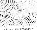 abstract halftone wave dotted... | Shutterstock .eps vector #721693516