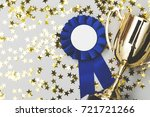 winners background with trophy... | Shutterstock . vector #721721266