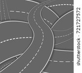 winding road background | Shutterstock .eps vector #721727572