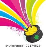 irish luck | Shutterstock .eps vector #72174529