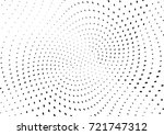 abstract halftone wave dotted... | Shutterstock .eps vector #721747312