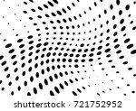 abstract halftone wave dotted... | Shutterstock .eps vector #721752952