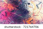 bright color fireworks.... | Shutterstock . vector #721764706