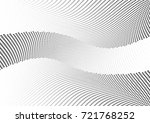 abstract halftone wave dotted... | Shutterstock .eps vector #721768252