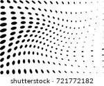 abstract halftone wave dotted... | Shutterstock .eps vector #721772182