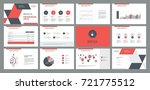 page layout design template for ... | Shutterstock .eps vector #721775512