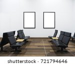 mock up posters display... | Shutterstock . vector #721794646