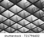 cement panel ceiling pattern... | Shutterstock . vector #721796602