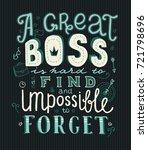 lettering a great boss is hard...