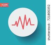 electrocardiogram icon   Shutterstock .eps vector #721800352