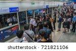 bangkok  thailand july 6  2017... | Shutterstock . vector #721821106