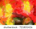 painted large brush strokes... | Shutterstock . vector #721831426