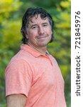 portrait of a handsome man in...   Shutterstock . vector #721845976
