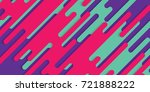 minimal abstract colorful... | Shutterstock .eps vector #721888222