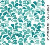 elegant seamless pattern... | Shutterstock .eps vector #721893535