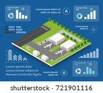 infographics of transportation...   Shutterstock .eps vector #721901116