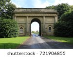 Entrance to Harewood House West Yorkshire