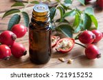 A Bottle Of Rosehip Seed Oil O...
