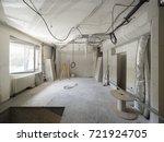 interior work in progress | Shutterstock . vector #721924705