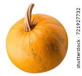 pumpkin isolated on a white... | Shutterstock . vector #721927732