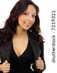 portrait of a beautiful sexy... | Shutterstock . vector #7219321
