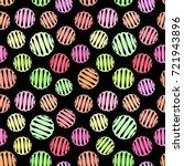 vector geometric seamless... | Shutterstock .eps vector #721943896