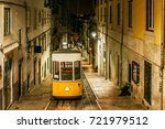 night view of the bica... | Shutterstock . vector #721979512