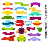 vector illustration set of... | Shutterstock .eps vector #721986595