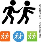 assassinate with dagger icon | Shutterstock .eps vector #721988665