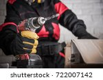 Construction Site Power Drill...