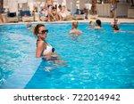 odessa  ukraine june 8  2014 ... | Shutterstock . vector #722014942