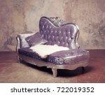luxury baroque sofa  | Shutterstock . vector #722019352