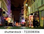 paris  france   12th of october ...   Shutterstock . vector #722038306
