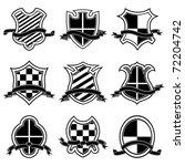 coat of arms. vector... | Shutterstock .eps vector #72204742