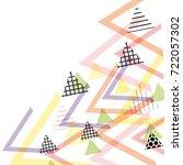 card banner template frame for... | Shutterstock .eps vector #722057302