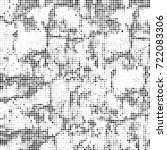 vector halftone black and white....   Shutterstock .eps vector #722083306