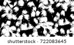 black white grunge vector... | Shutterstock .eps vector #722083645