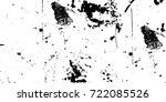 grunge black and white urban...   Shutterstock .eps vector #722085526