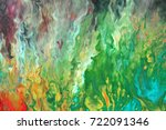 watercolor abstract bright...   Shutterstock . vector #722091346