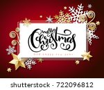 vector illustration of banner... | Shutterstock .eps vector #722096812