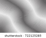 abstract twisted background.... | Shutterstock .eps vector #722125285